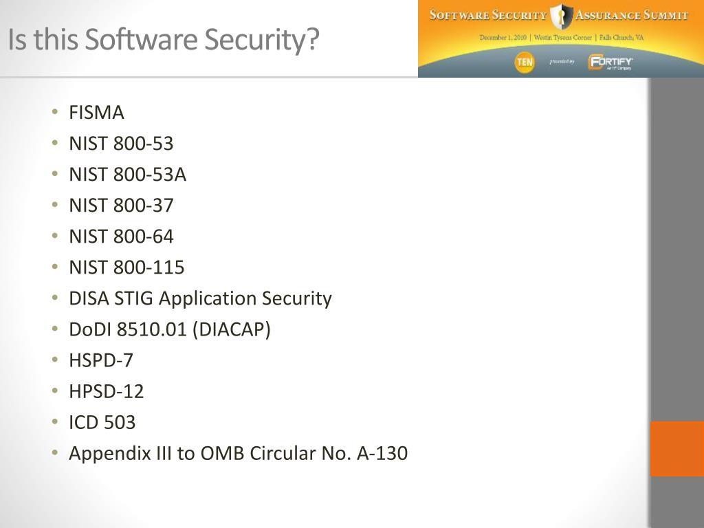 PPT - Understanding Software Security PowerPoint