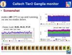 caltech tier2 ganglia monitor