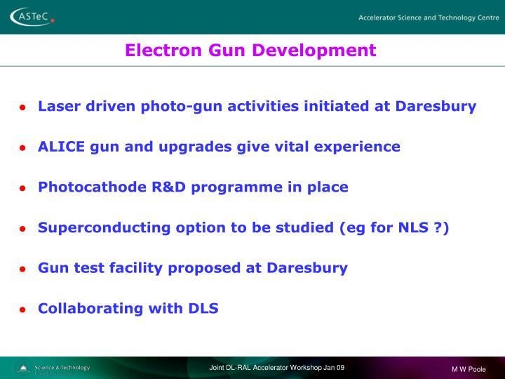 Electron Gun Development