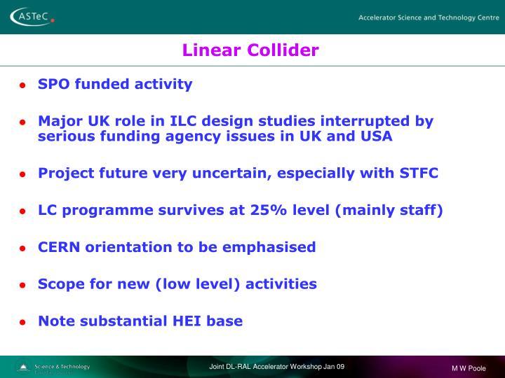 Linear Collider