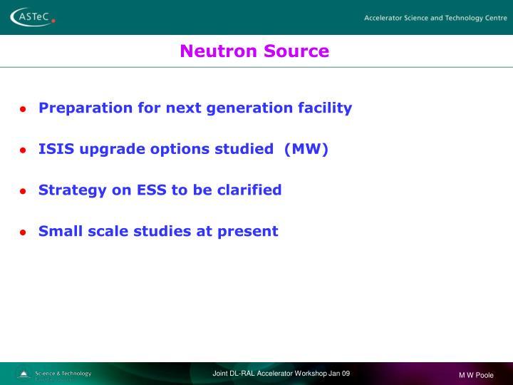 Neutron Source