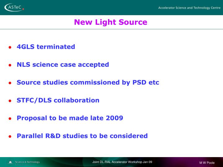 New Light Source