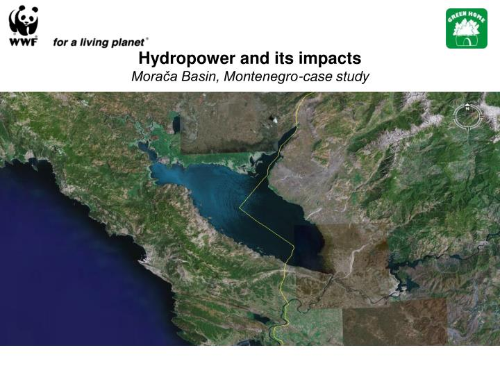 hydropower and its impacts mora a basin montenegro case study n.
