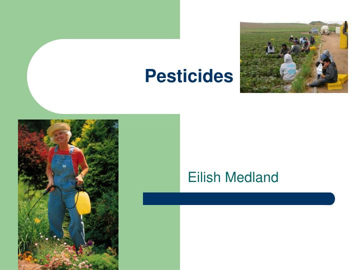 pesticides n.