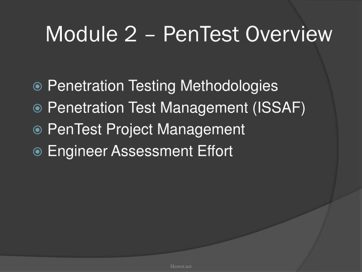 test Nist penetration