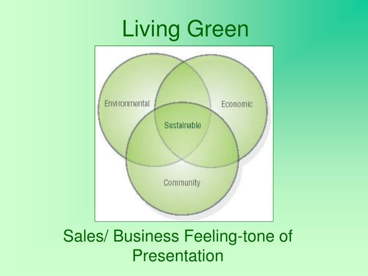 living green n.