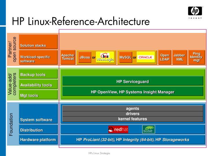 HP Linux-Referen