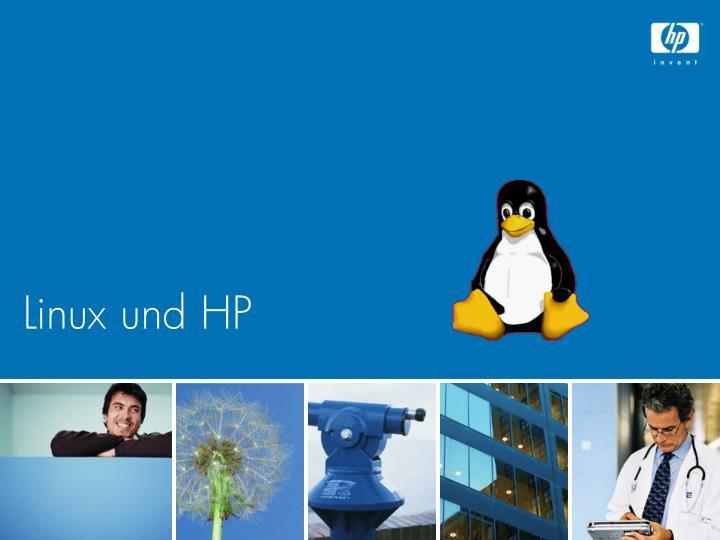 Linux und HP