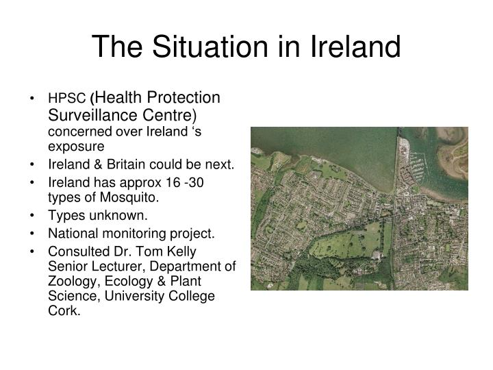 The Situation in Ireland