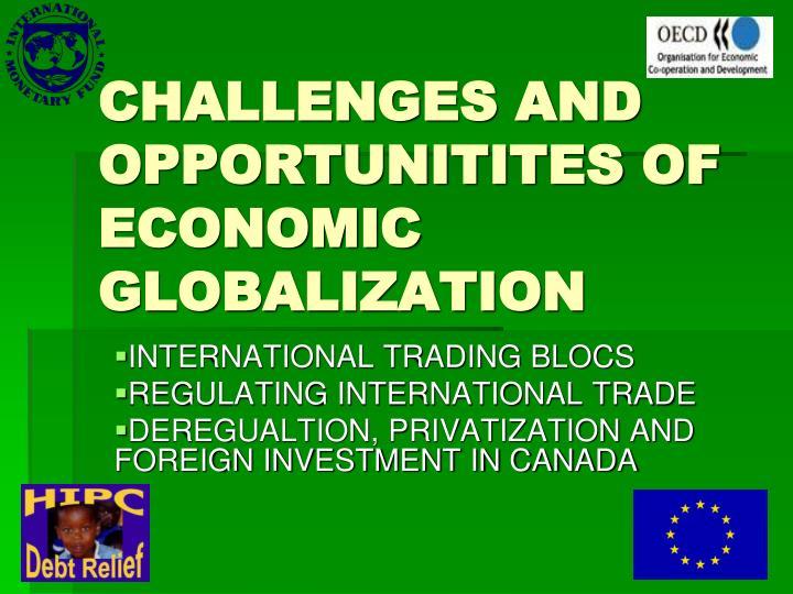 international trade and economic bloc