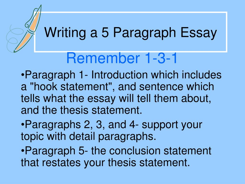 Ppt  Writing A  Paragraph Essay Powerpoint Presentation  Id Writing A  Paragraph Essay N Narrative Essays Examples For High School also Online Writing Services Review  Apa Format Sample Paper Essay