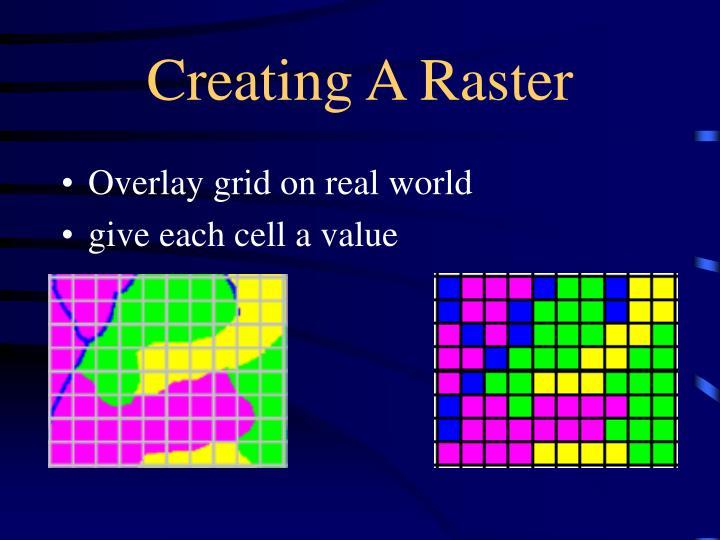 Creating A Raster