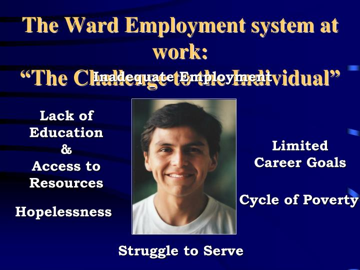 the ward employment system at work the challenge to the individual n.