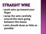 straight wire1