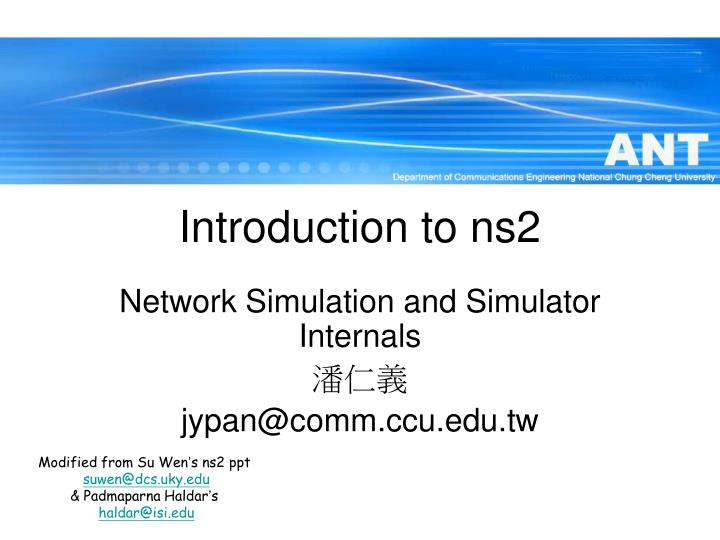examining the network simulations of ns2 information technology essay How to make nodes periodically sleep using 802 how is energy given to nodes in ad hoc network in ns2 the results of simulations run comparing ns-2 tcp.