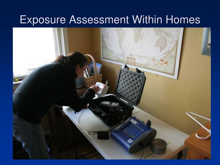 Exposure Assessment Within Homes