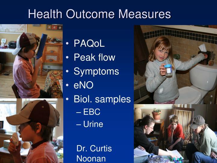 Health Outcome Measures