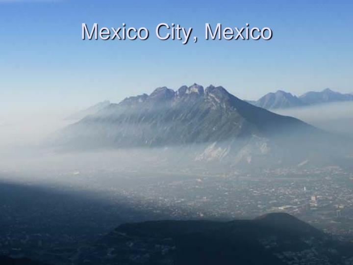 Mexico city mexico