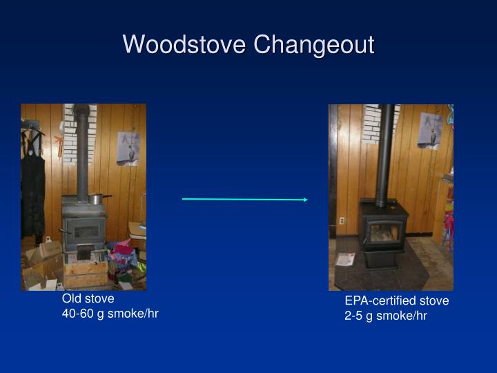 Woodstove Changeout