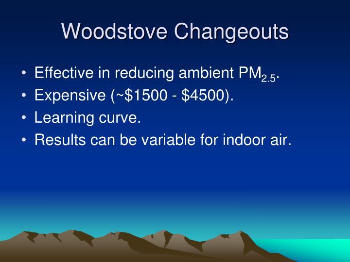 Woodstove Changeouts