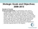 strategic goals and objectives 2008 2013