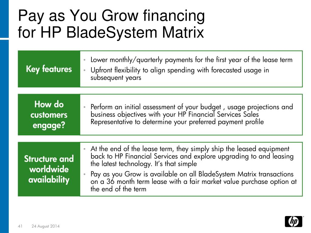 PPT - HP BladeSystem Matrix introduction/overview PowerPoint