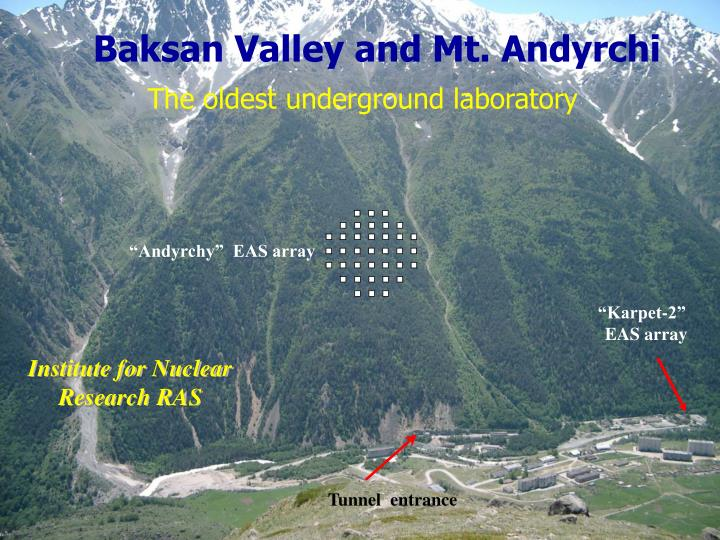 Baksan Valley and Mt. Andyrchi