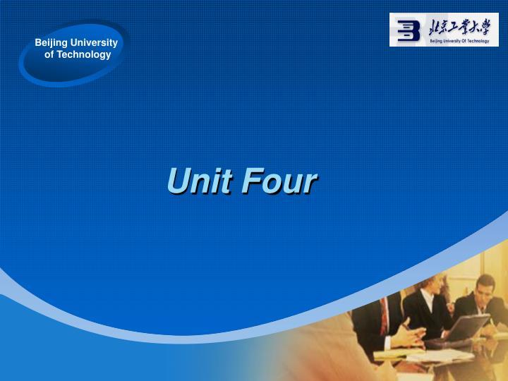 unit four n.
