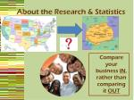 about the research statistics