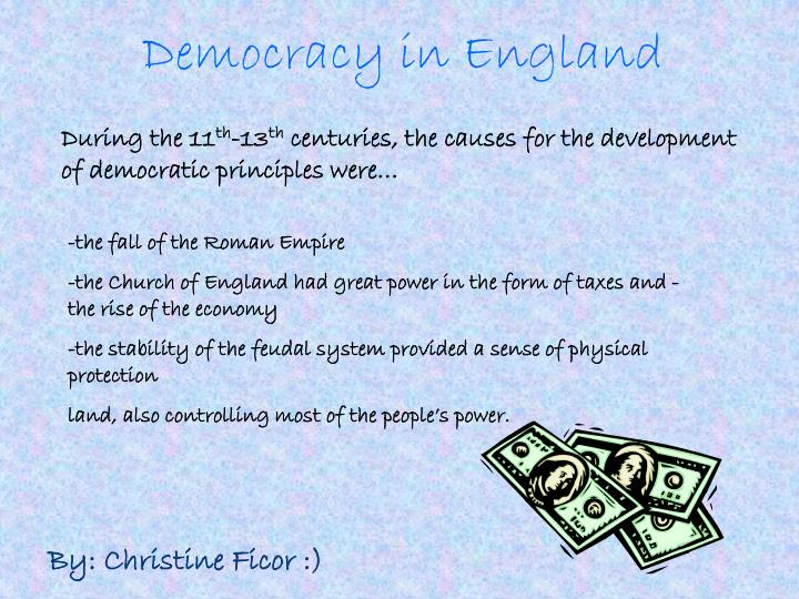 Democracy in England