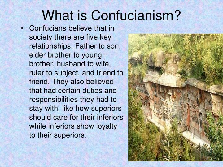 What is Confucianism?