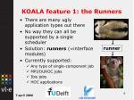 koala feature 1 the runners