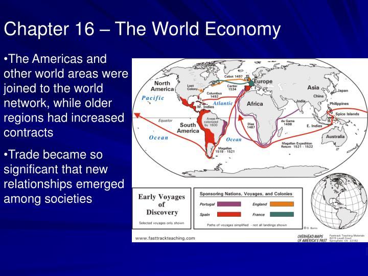 Chapter 16 – The World Economy