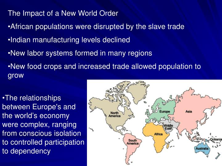 The Impact of a New World Order