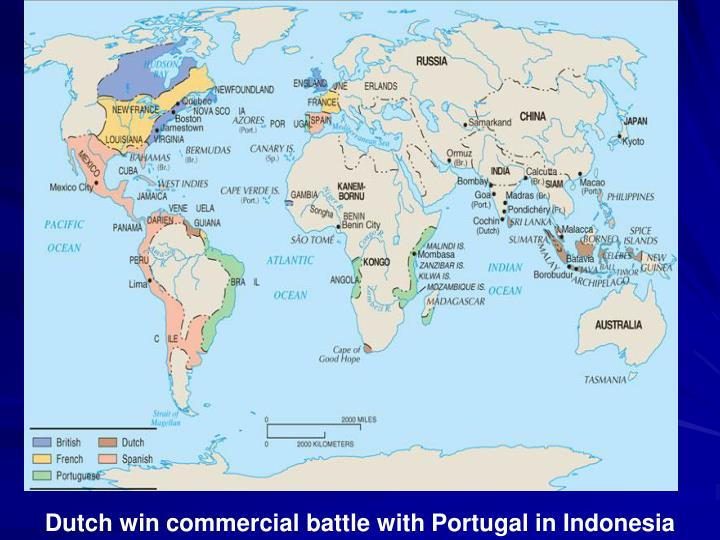 Dutch win commercial battle with Portugal in Indonesia