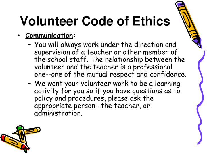 reaction to code of ethics The importance of teacher ethics the code of ethics for teachers is designed to protect the rights of the students, all the students it is important that teachers.