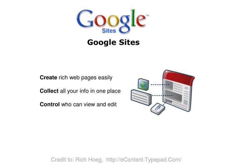 google sites n.