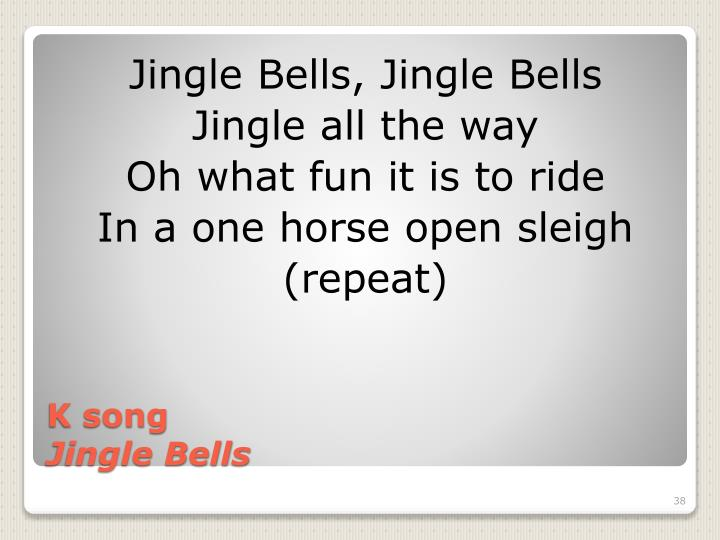 Jingle Bells, Jingle Bells