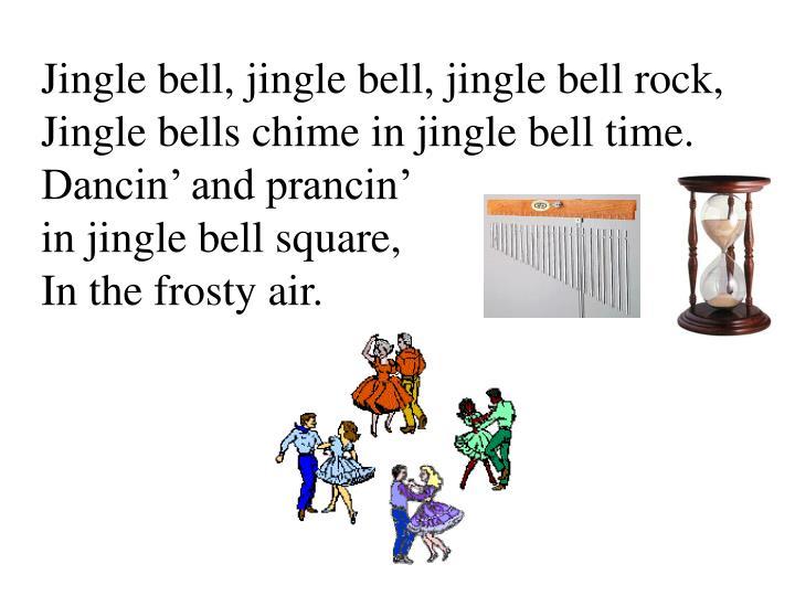 Jingle bell, jingle bell, jingle bell rock,