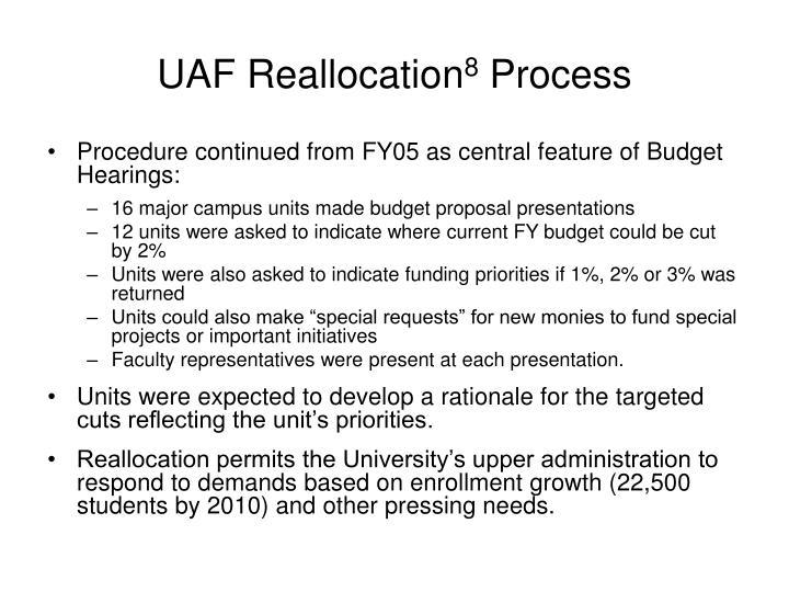 UAF Reallocation