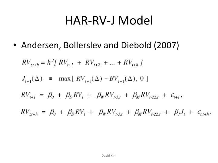 HAR-RV-J Model