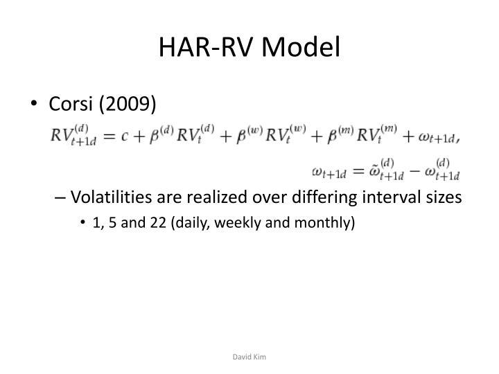 HAR-RV Model