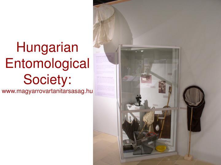 Hungarian Entomological Society: