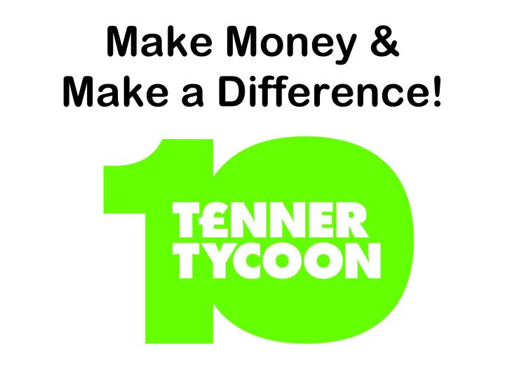 Make money make a difference
