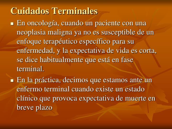 Cuidados Terminales