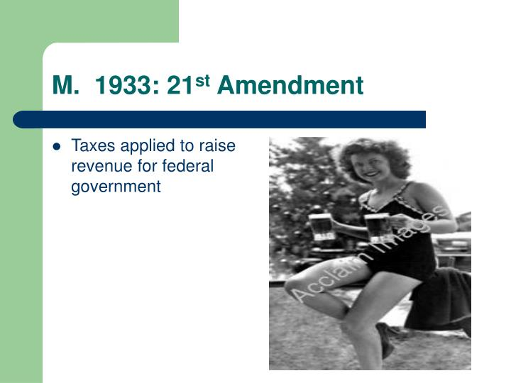 Taxes applied to raise revenue for federal government