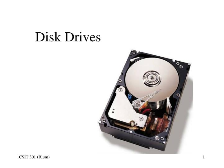 disk drives n.