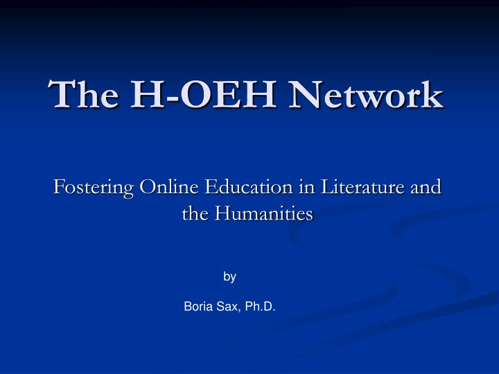 the h oeh network n.
