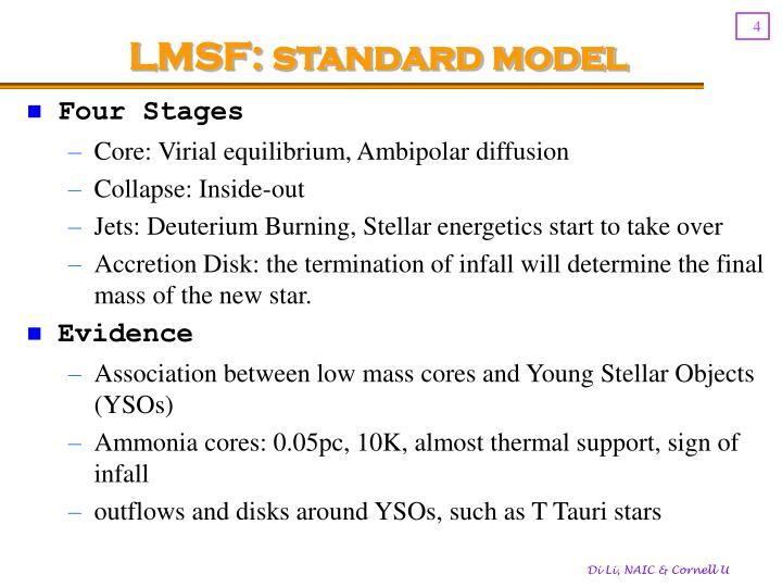 LMSF: standard model