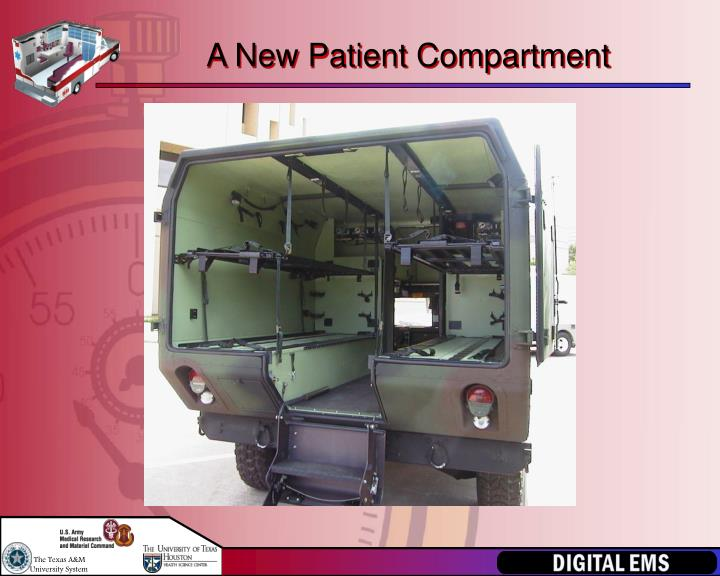 A New Patient Compartment